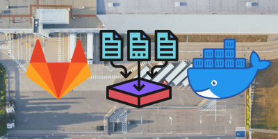 Using cache in GitLab CI with Docker-in-Docker