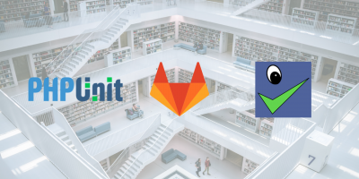 PHP tests reports with GitLab CI